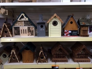 Bird and bug homes