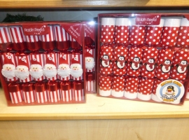 Christmas cards, calendars and tableware.