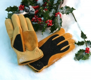 Gloves for cold wet conditions